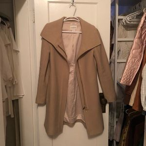 Italian Wool Light Tan Coat